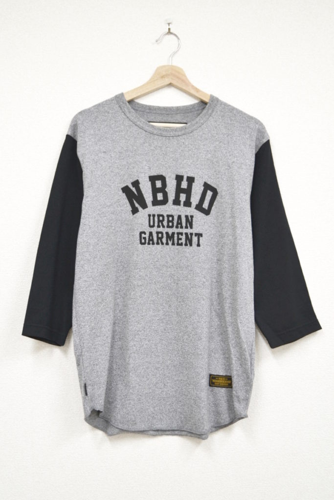 2018SS/TOP SLEEVE/CE-CREW 3Q NBHD 7分袖Tシャツ カットソー