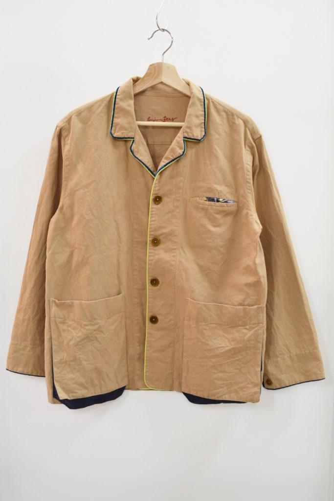PLUS/2013AW/コットンリネン パジャマシャツ