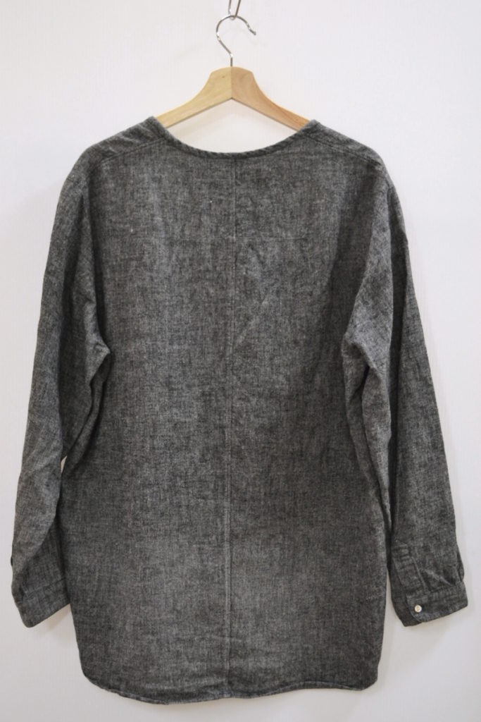 リネン オーバーサイズ プルオーバー シャツの買取実績画像