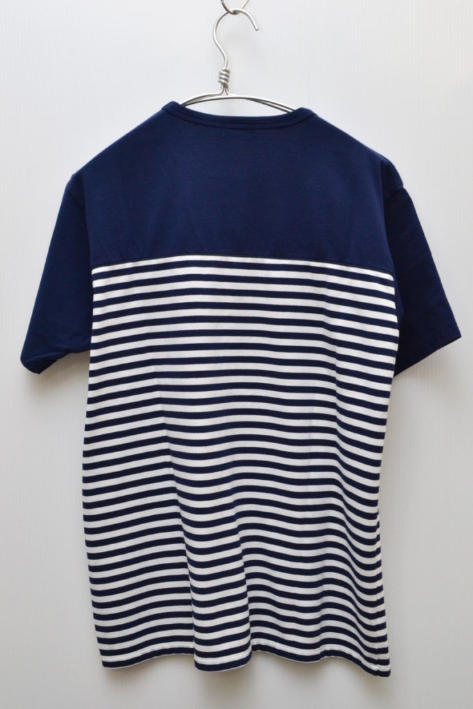 COOLMAX Jersey Shoulder Panel Tee パネルボーダー Tシャツの買取実績画像