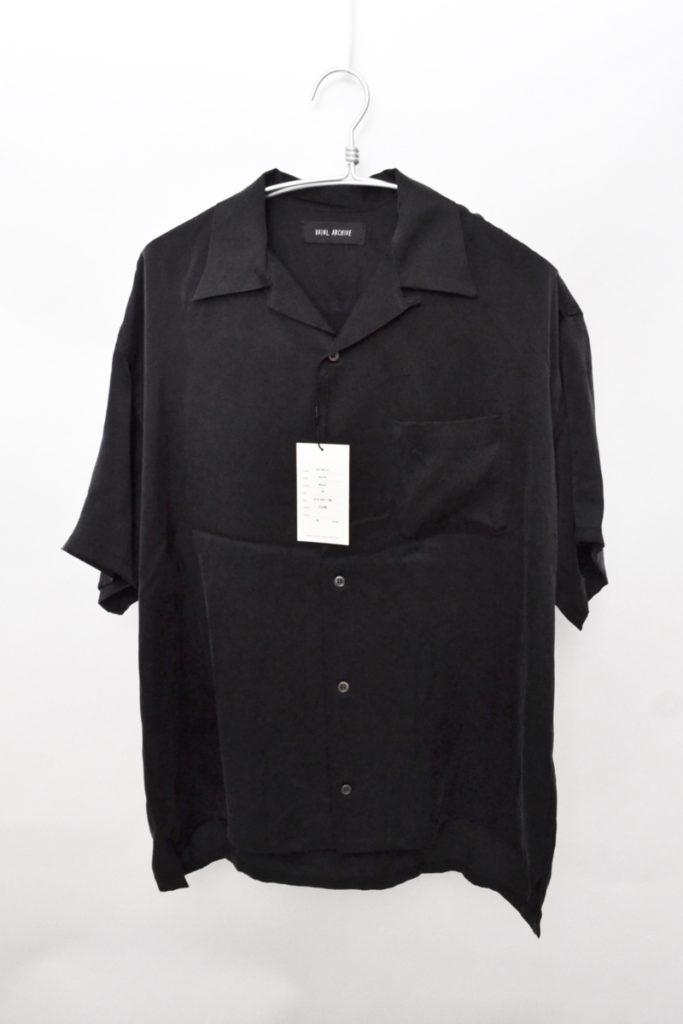 2018SS/MARK シルク オープンカラーシャツ