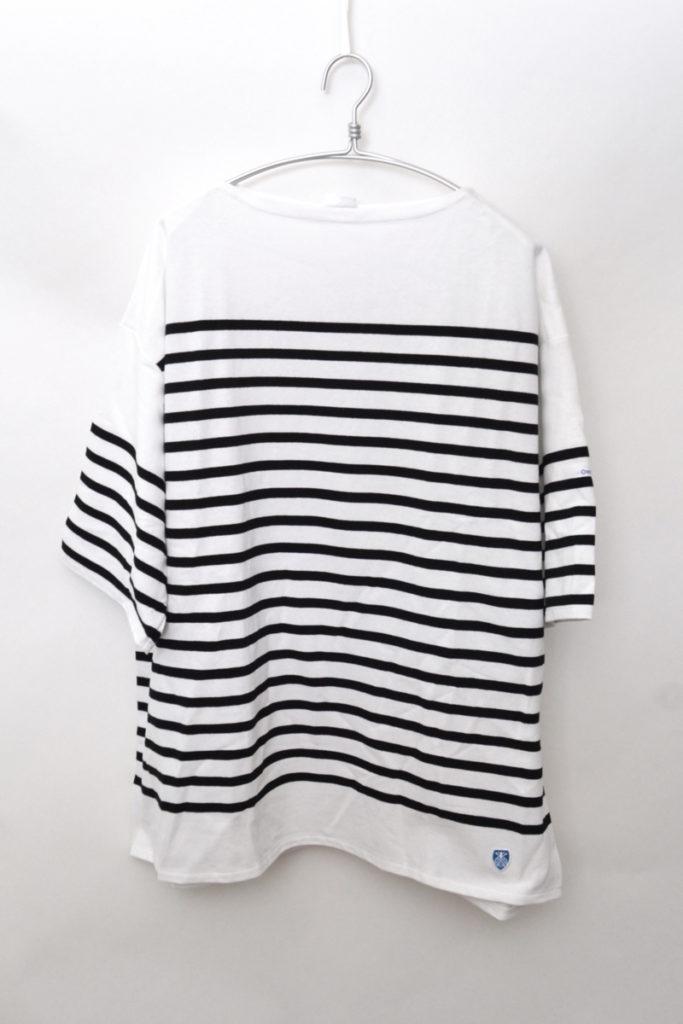 French Sailor ラッセル ビッグシルエット 半袖バスクシャツ Tシャツ