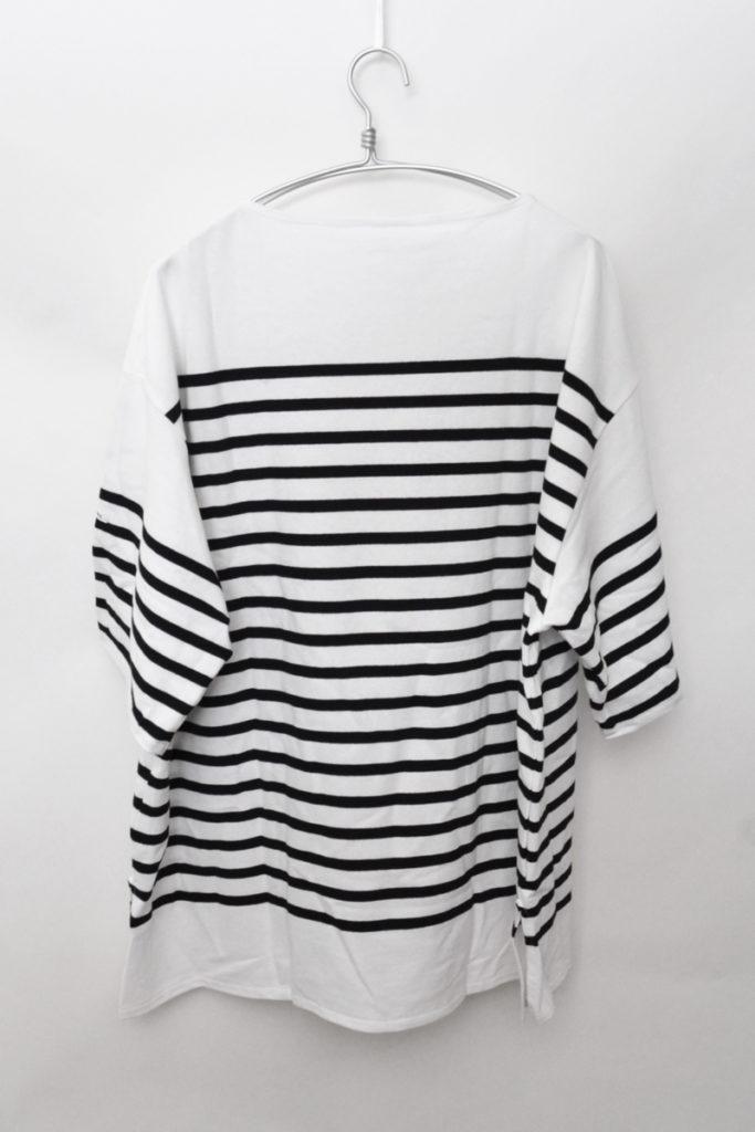 French Sailor ラッセル ビッグシルエット 半袖バスクシャツ Tシャツの買取実績画像