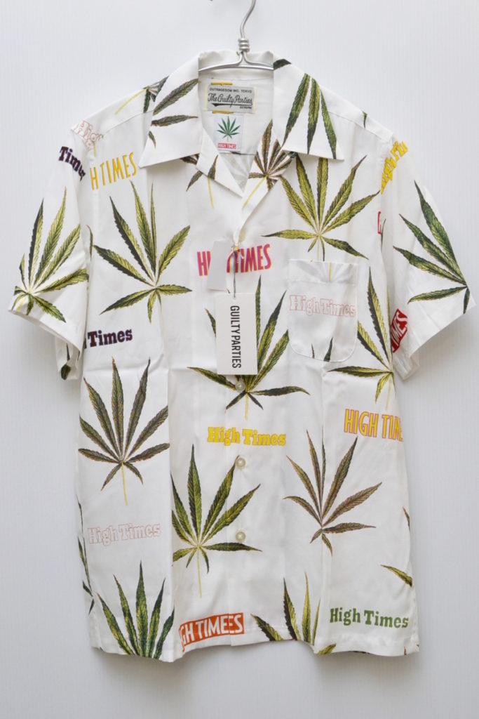 × WACKO MARIA/HAWAIIAN SHIRT ( type-2) マリファナ アロハシャツの買取実績画像