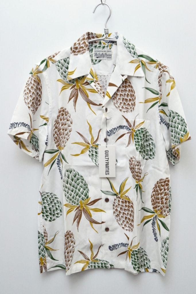 2018SS/PINEAPPLE S/S HAWAIIAN SHIRT パイナップル アロハシャツ
