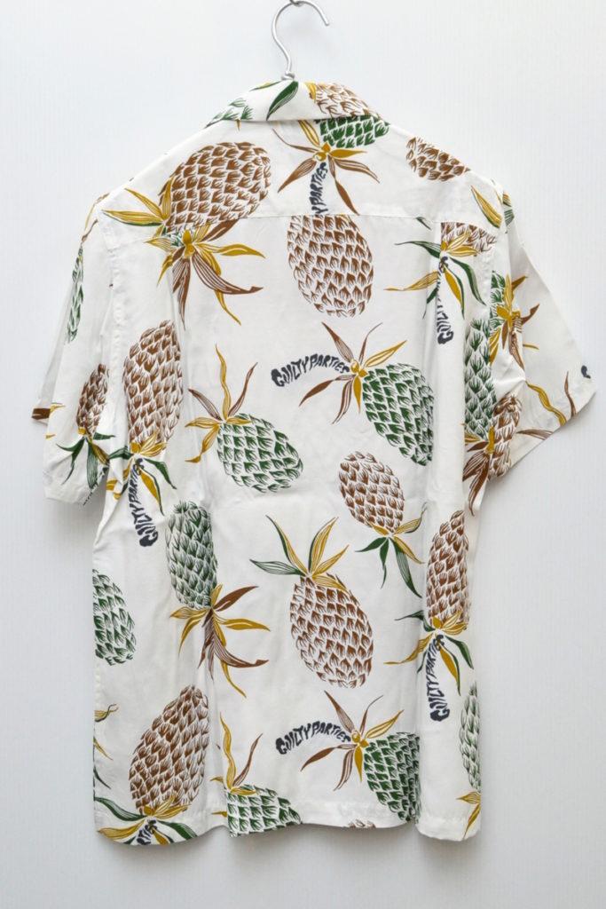 2018SS/PINEAPPLE S/S HAWAIIAN SHIRT パイナップル アロハシャツの買取実績画像