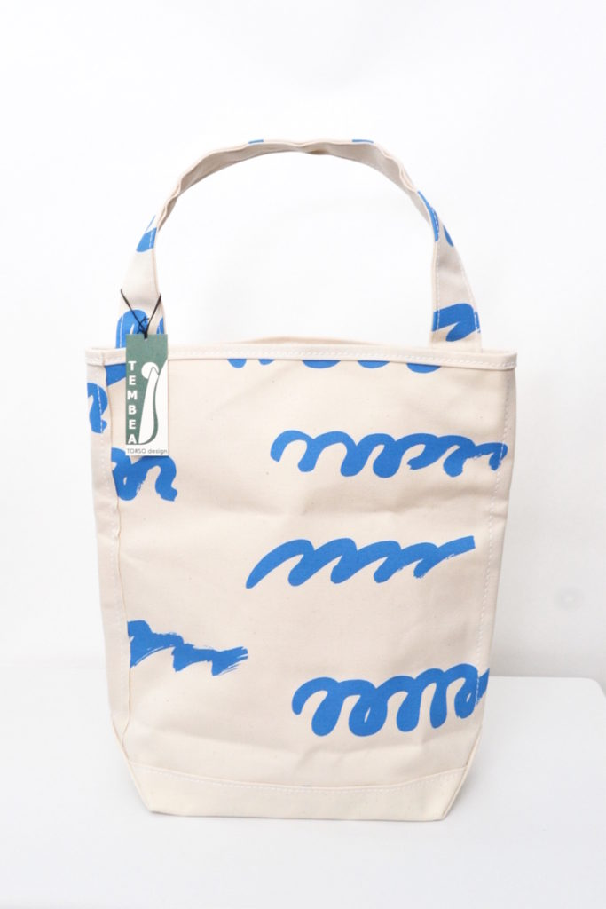 BAGUETTE TOTE Noritake [波線] コットンキャンバス バゲットトートバッグの買取実績画像