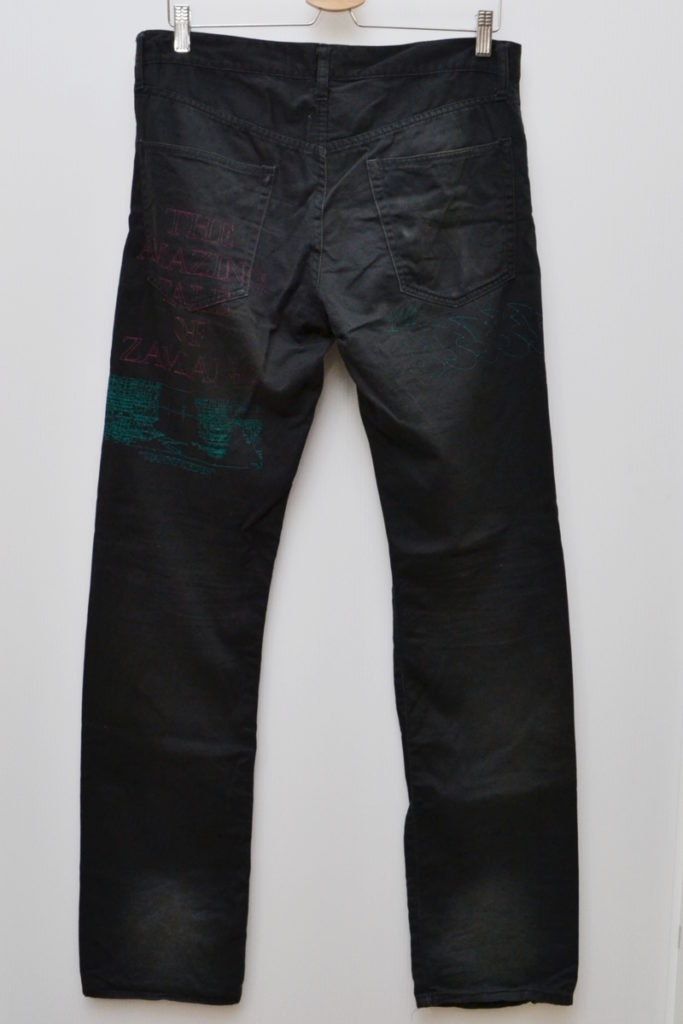 2006SS/T期 刺繍 パンツの買取実績画像