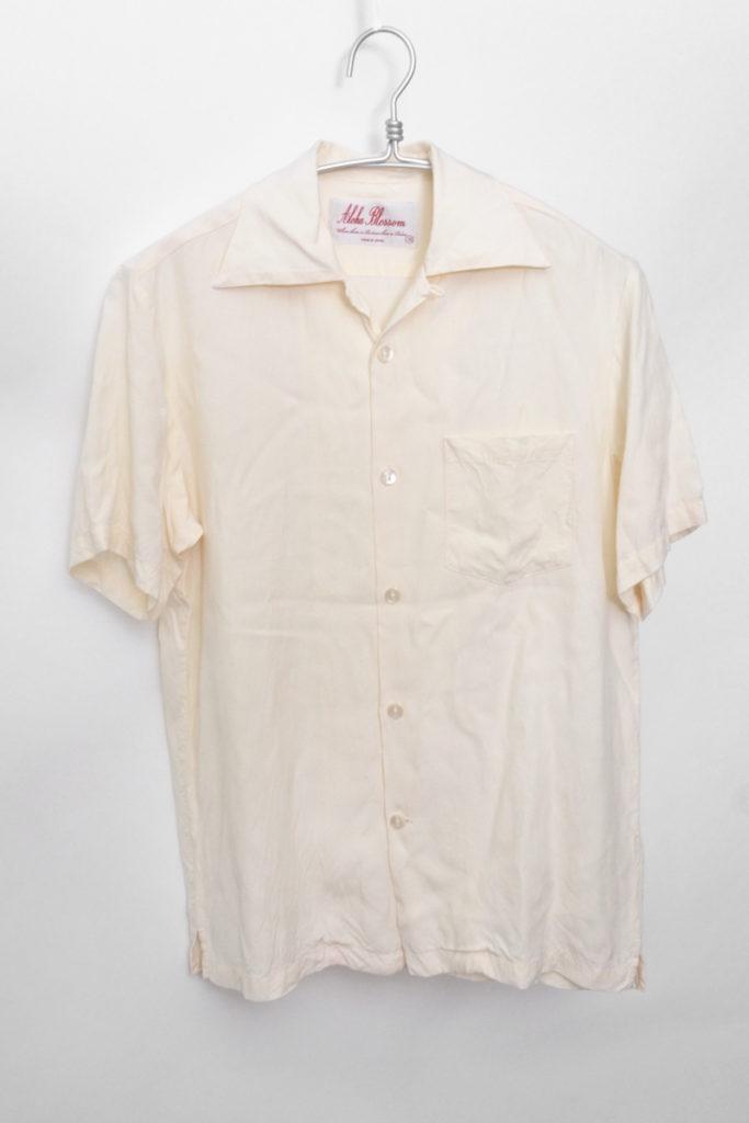 FOUNDATION ファンデーション 無地 レーヨンアロハシャツの買取実績画像