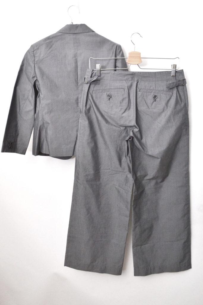 コットンシルク イージージャケット ワイドパンツスーツ セットアップの買取実績画像