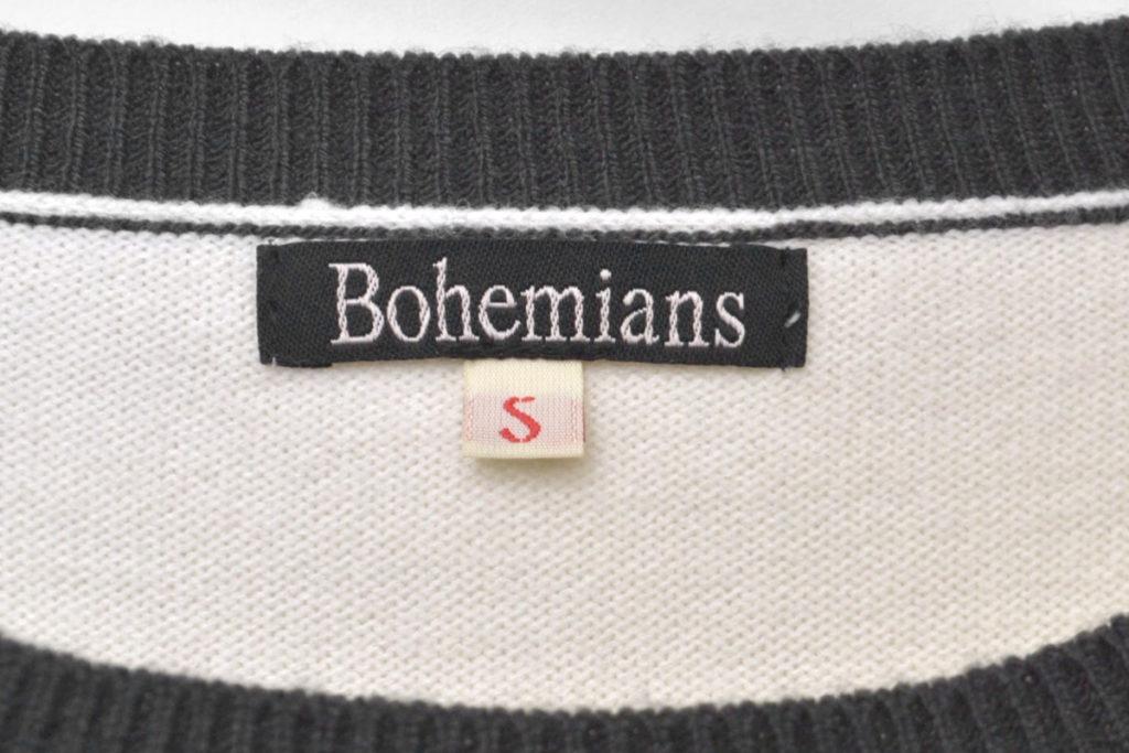 ビッグカブトムシ刺繍 クルーネックニット セーターの買取実績画像