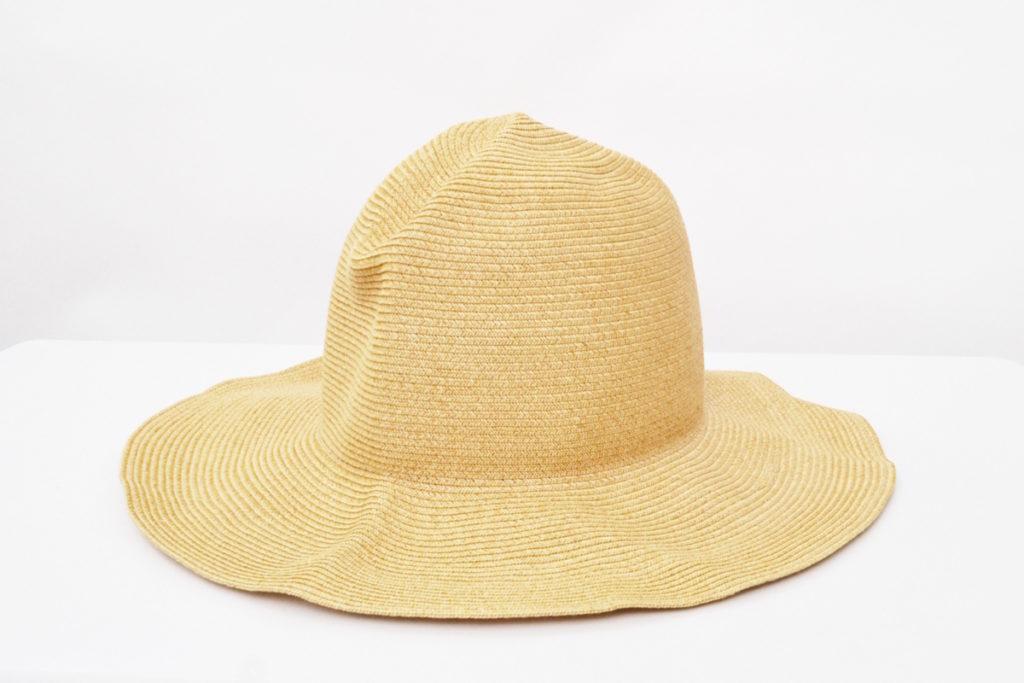 9cm Paper Braid Traveller Hat ペーパー トラベラーハット