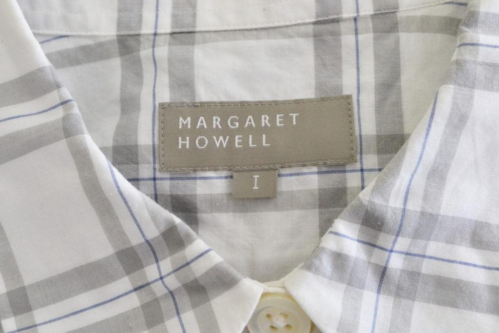 2016SS/丸襟 半袖 チェック プルオーバーシャツの買取実績画像