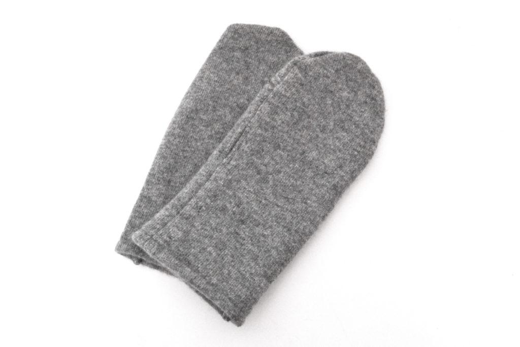 LVS カシミヤニット ミトングローブ 手袋の買取実績画像
