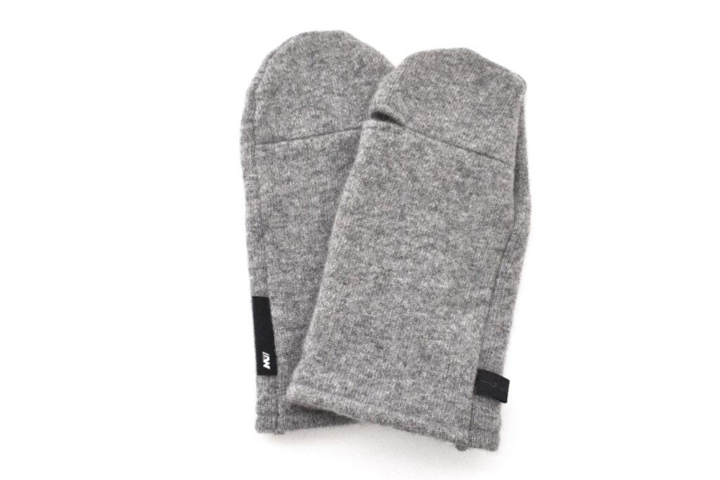 LVS カシミヤニット ミトングローブ 手袋