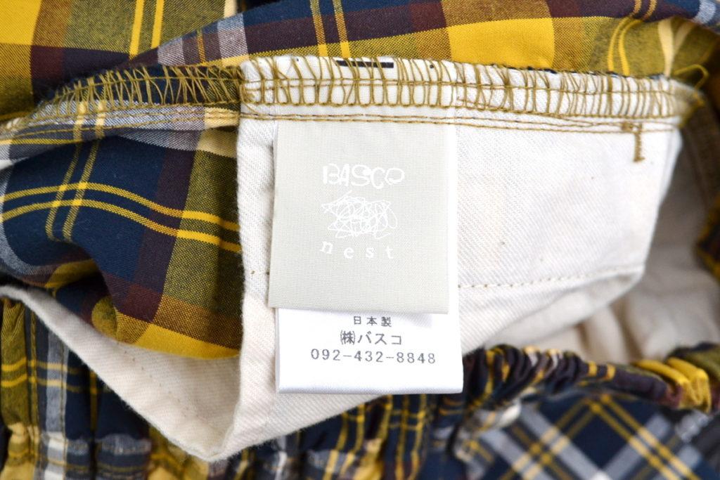 マオパンツ・39 チェック バックポケットパンツの買取実績画像