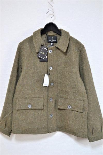 2015AW/ HARRIS TWEED SHORT WORK JACKET ハリスツイード ショートワークジャケット