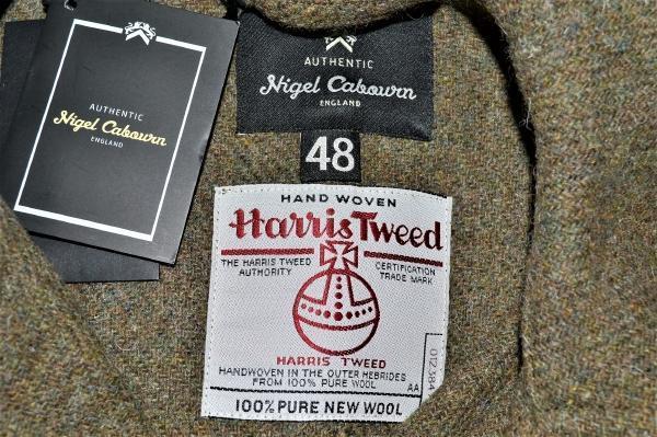 2015AW/ HARRIS TWEED SHORT WORK JACKET ハリスツイード ショートワークジャケットの買取実績画像