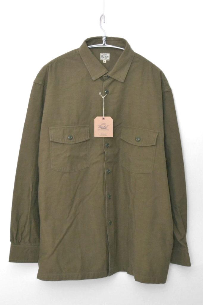 BACKSATIN SHIRT JACKET 'VIET-NAM MAP バックサテン シャツジャケット