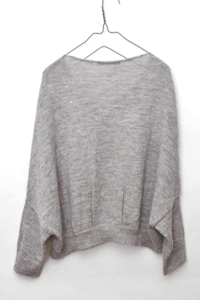 wool linen v-neck dolman knit ウールリネン vネック ドルマンスリーブニットの買取実績画像