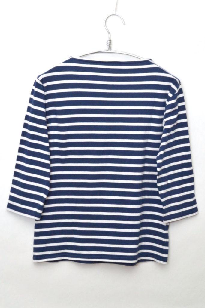 MORLAIX 3/4 モーレ 七分袖ボーダーバスクシャツ カットソーの買取実績画像