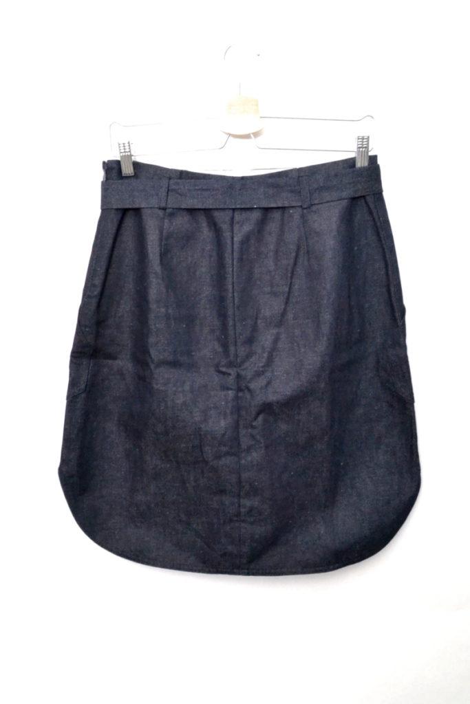 コットンリネンデニム ベルテッドスカートの買取実績画像
