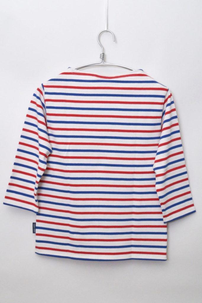 OUESSANT ウエッソン 七分袖 トリコロールボーダーバスクシャツの買取実績画像