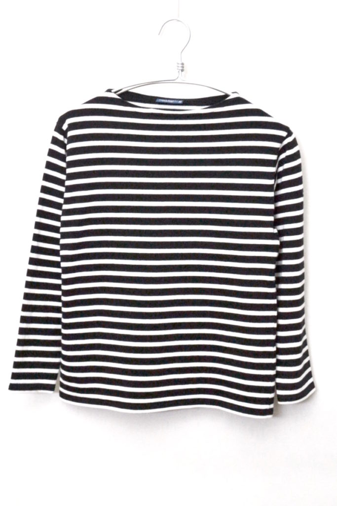L'ATELIER/OUESSAT ウエッソン ボーダーバスクシャツ
