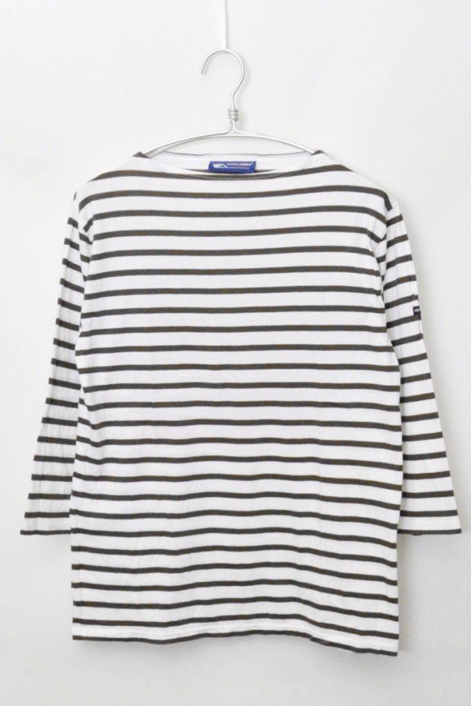 MORLAIX 7 S/L モーレ 七分袖 ボーダーバスクシャツ