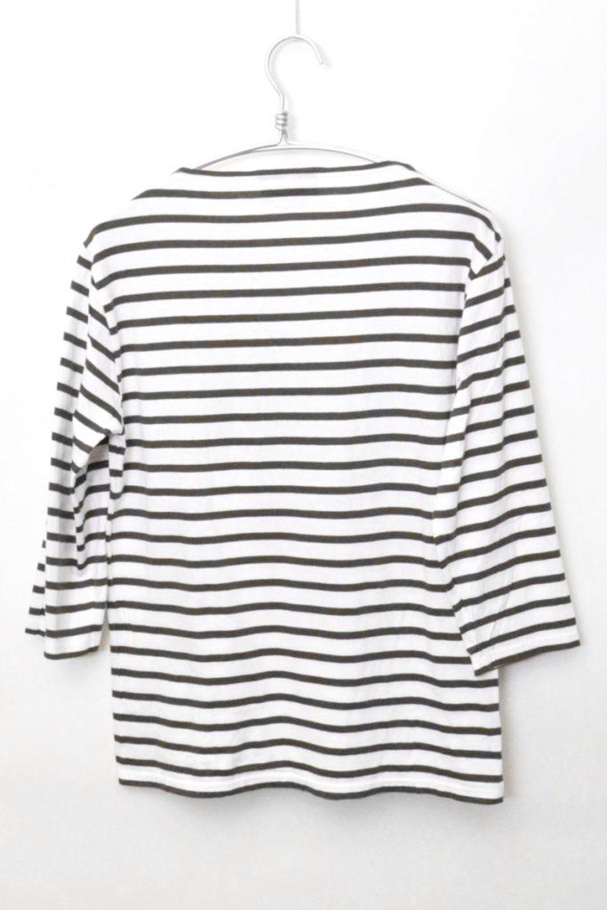 MORLAIX 7 S/L モーレ 七分袖 ボーダーバスクシャツの買取実績画像
