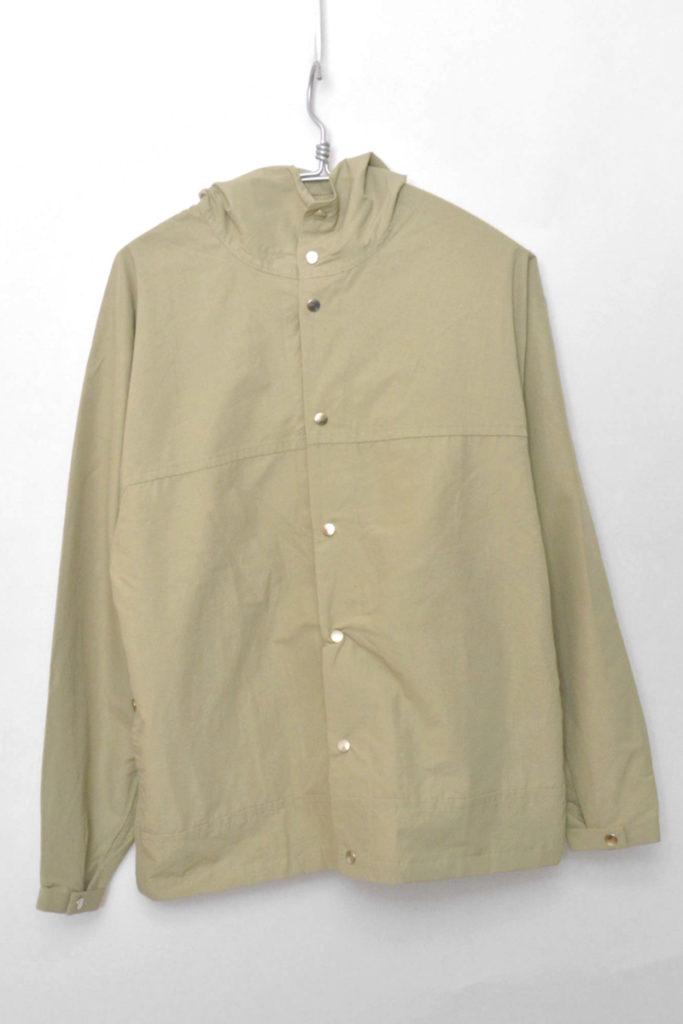 2017AW/ 60/40 CLOTH HOODED SHIRT LONG フードシャツ ロング