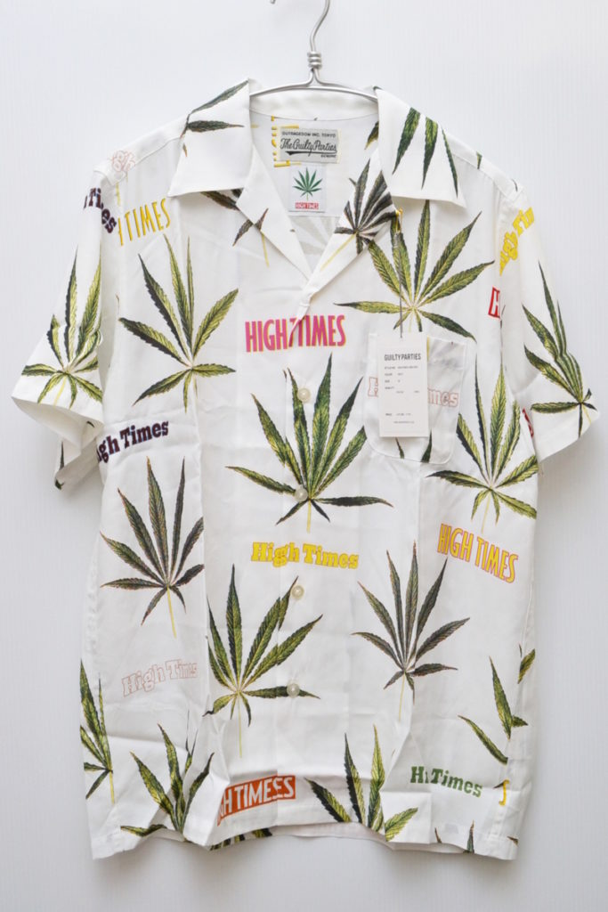 × WACKO MARIA/HAWAIIAN SHIRT ( type-2) マリファナ アロハシャツ