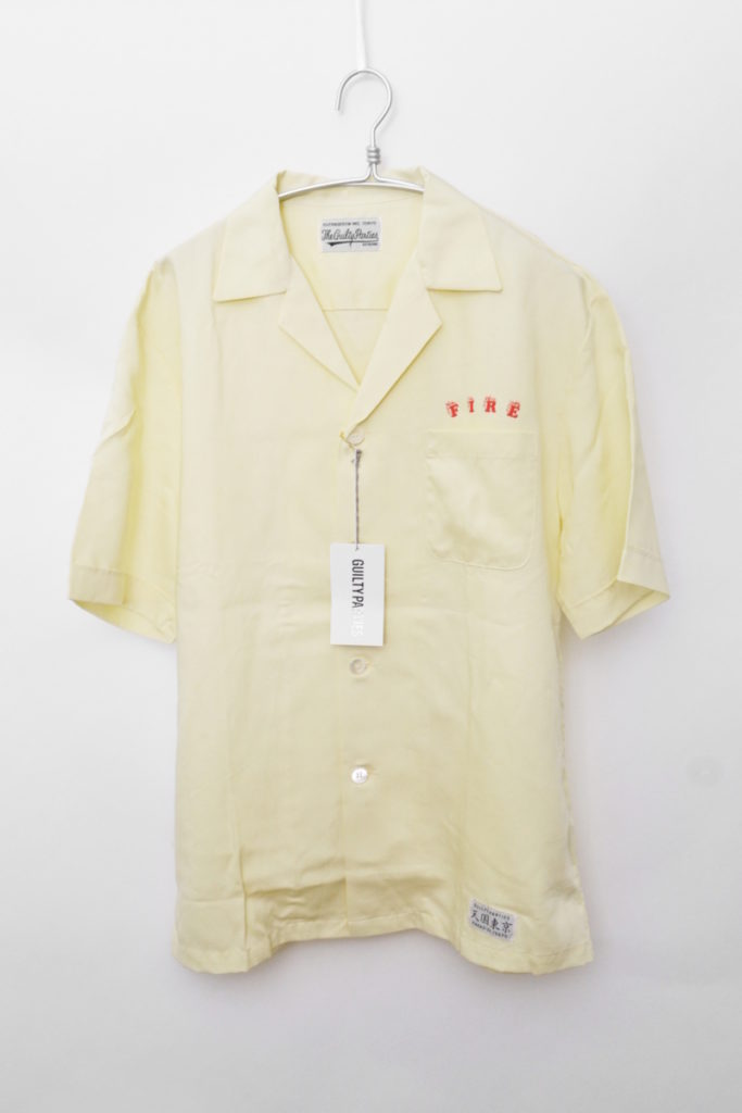 2018SS/MAFIA SHIRT (TYPE-2) マフィアシャツ オープンカラーシャツ