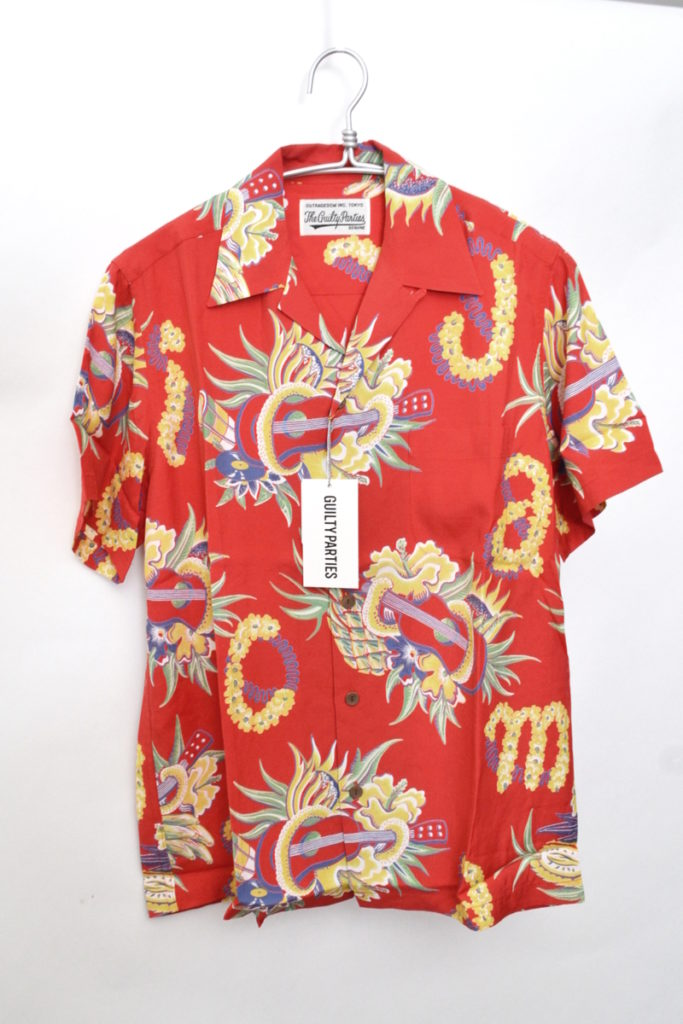 2018SS/JAMAICA FLOWER S/S HAWAIIAN SHIRT ジャマイカ アロハシャツ