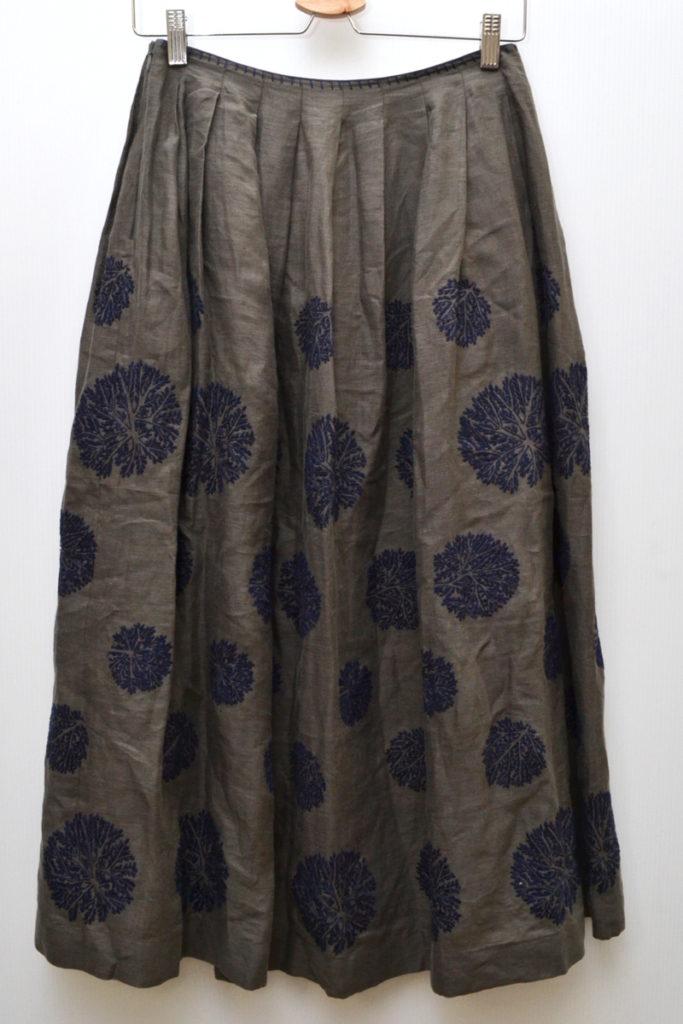 forest dot フォレストドット リネン 刺繍 スカートの買取実績画像