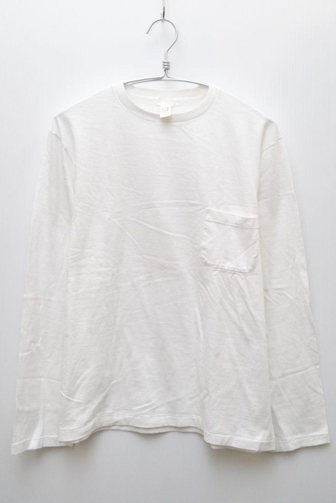 38062 CREW NECK POCKET L/S TEE クルーネック ポケット 長袖Tシャツ