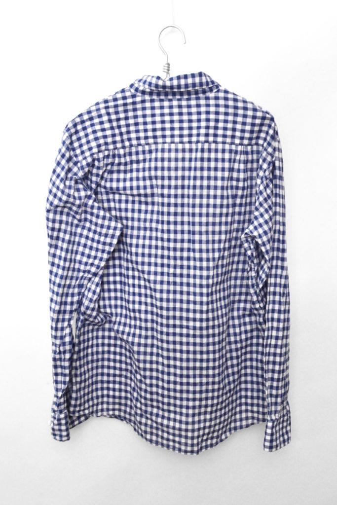 コットンガーゼ ギンガムチェック スキッパーシャツの買取実績画像