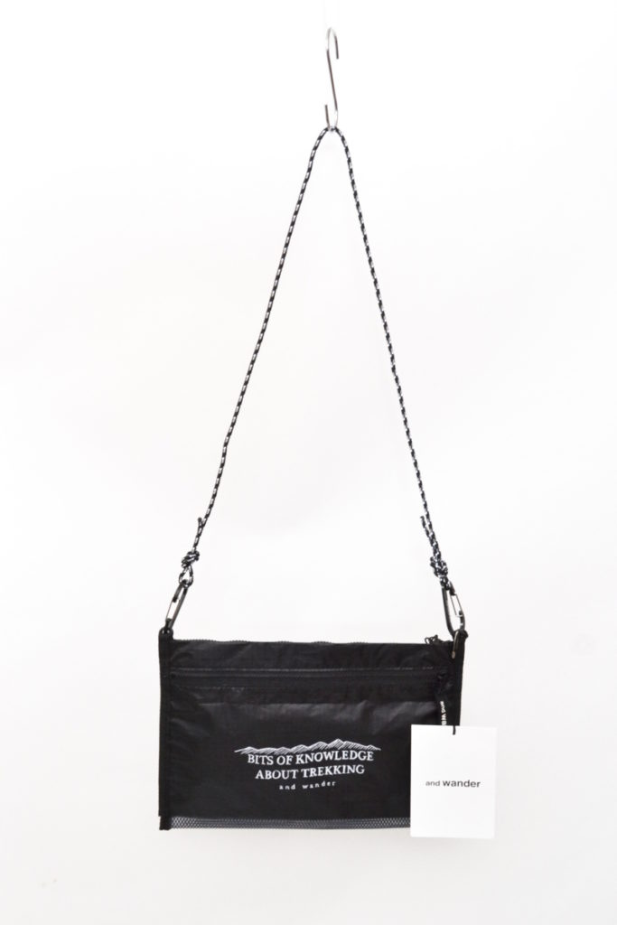 AW-AA741 / twin pouch set ツイン ポーチ セット サコッシュ