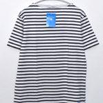 2/40 STRIPE ボートネック ボーダー Tシャツ