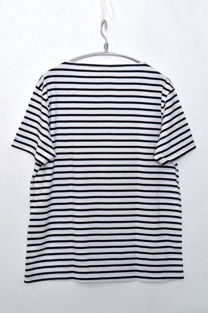2/40 STRIPE ボートネック ボーダー Tシャツの買取実績画像
