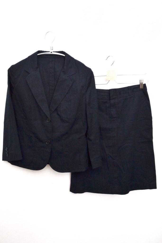 ツイルコットン パンツ スカート スーツ セットアップ