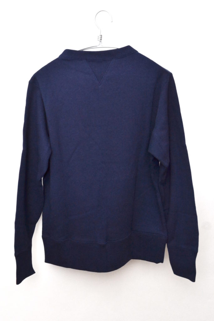 × BEAMS ◆ 別注 カタカナロゴ 前Vクルーネックスウェットシャツの買取実績画像