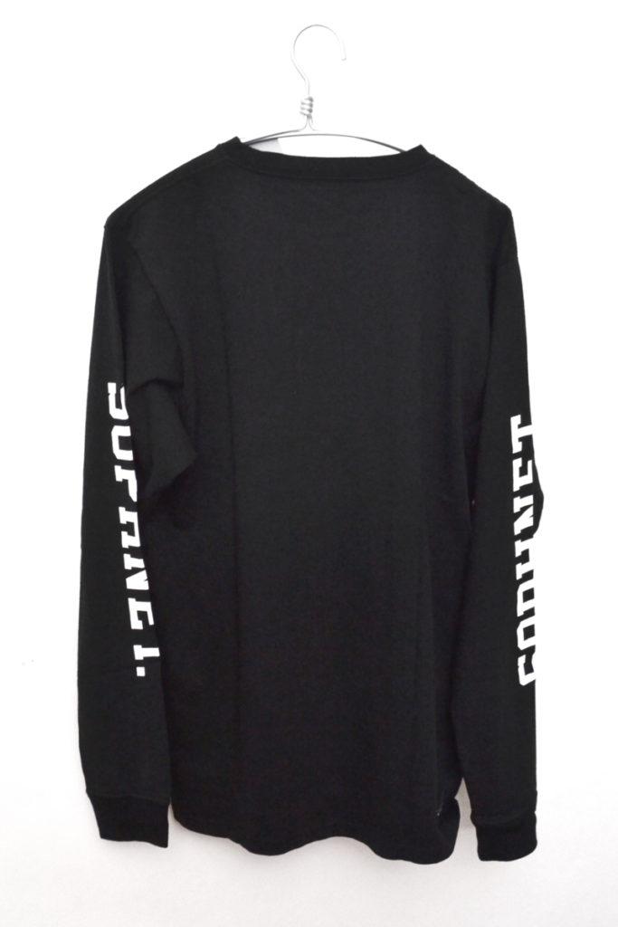 18SS/LONG SLEEVE TEE 袖ロゴプロント 長袖Tシャツ カットソーの買取実績画像
