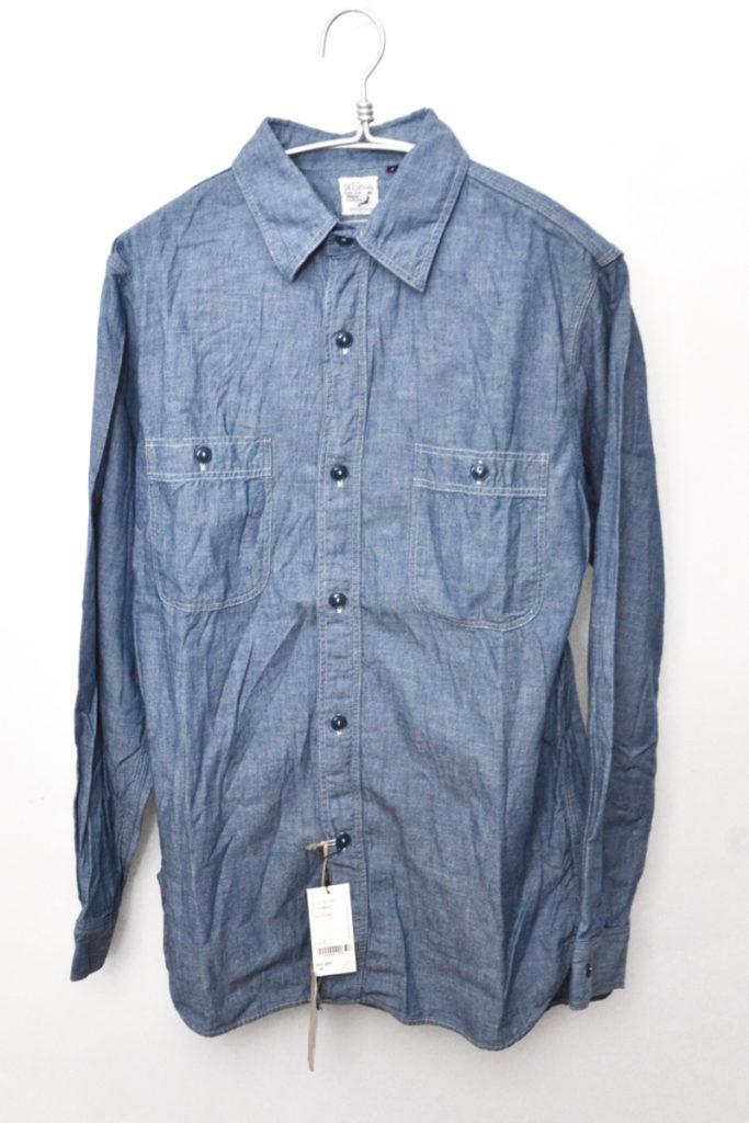 CHAMBRAY SHIRTS BLUE シャンブレーシャツ