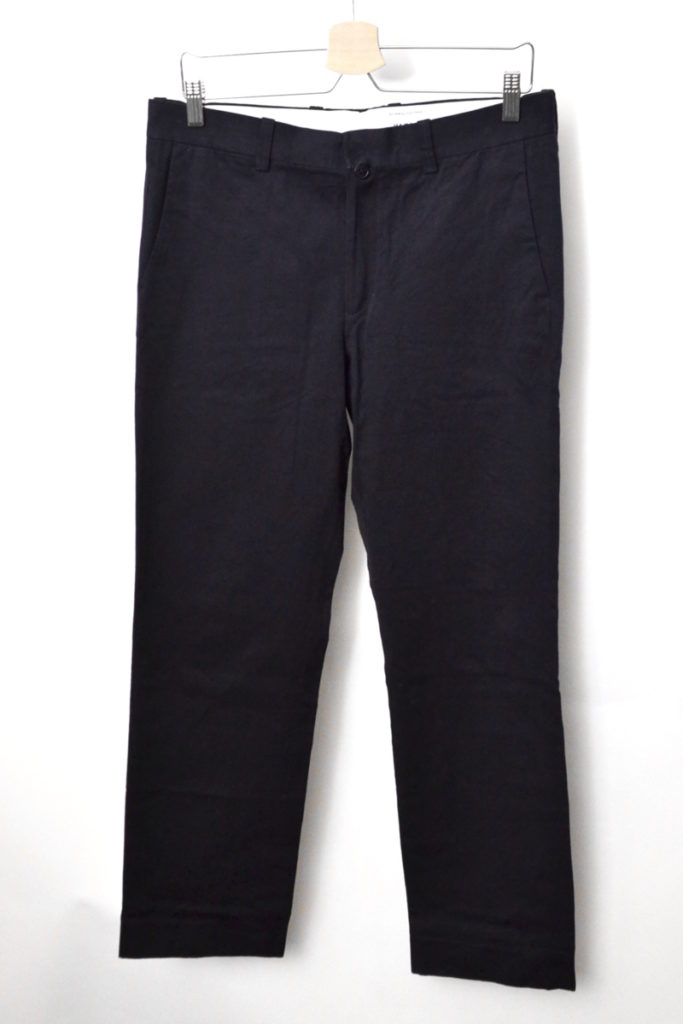 17652 CHINO CLOTH PANTS | PIPED STEM チノパンツ
