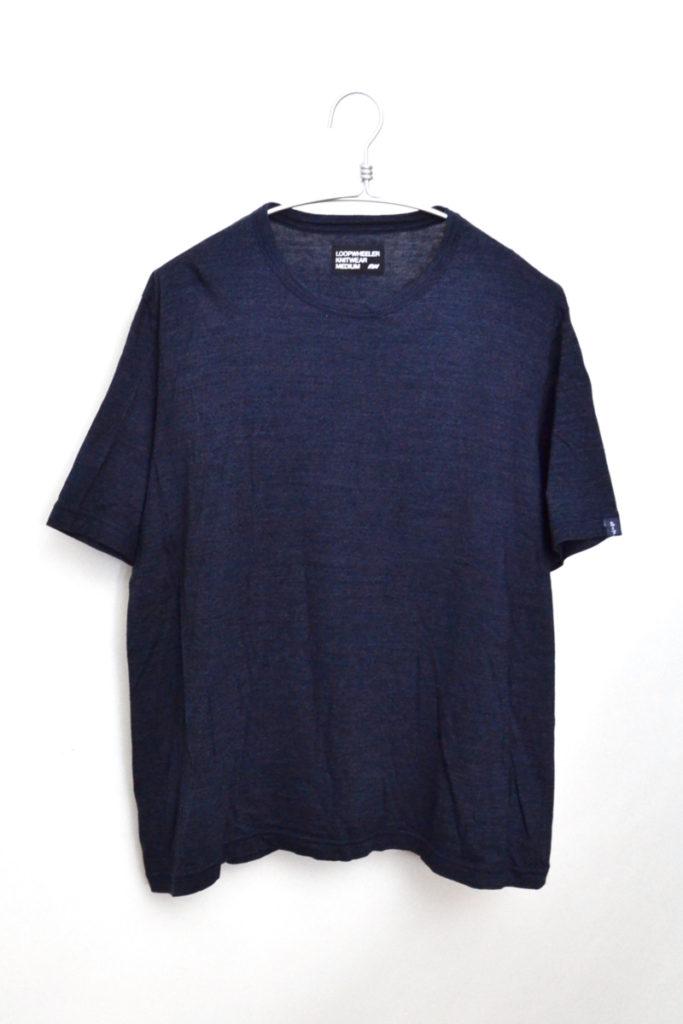 INDIGO TEEインディゴ クルーネックTシャツ