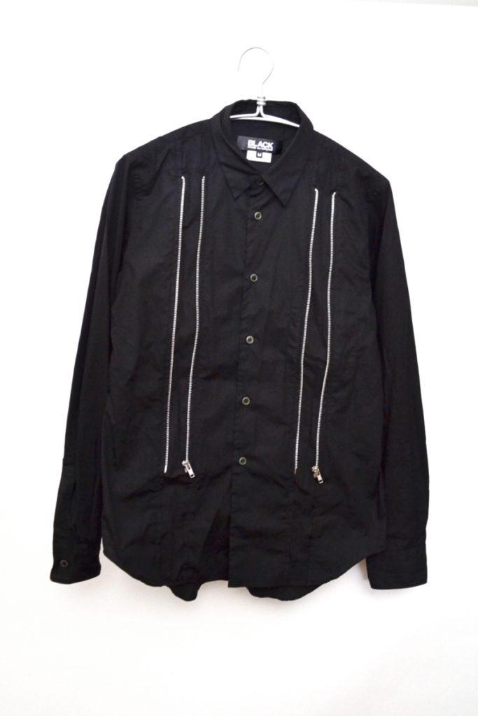 AD2018 19SS/フロントジップシャツ