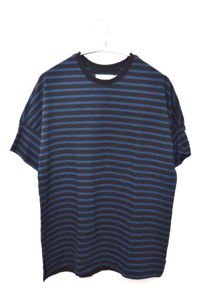 2019SS/CLERK S/S TEE COTTON JERSEY HEAVY WEIGHT BORDER クラークTシャツ