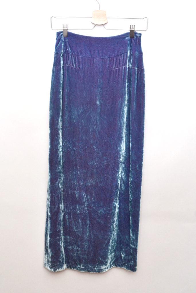 シルク レーヨンベロア ロングスカートの買取実績画像