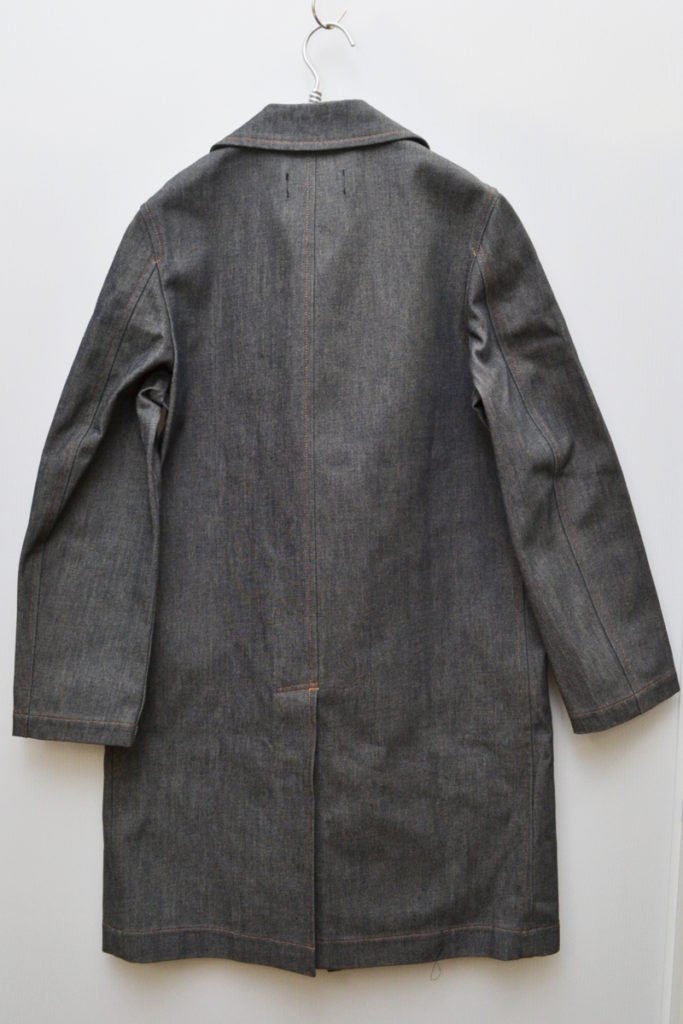 AD1999/フリンジ リジットデニム コートの買取実績画像